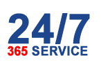 24 Hour Service, 365 Days a Year